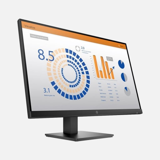 HP P27q G4 27 Zoll 2K QHD Monitor mieten