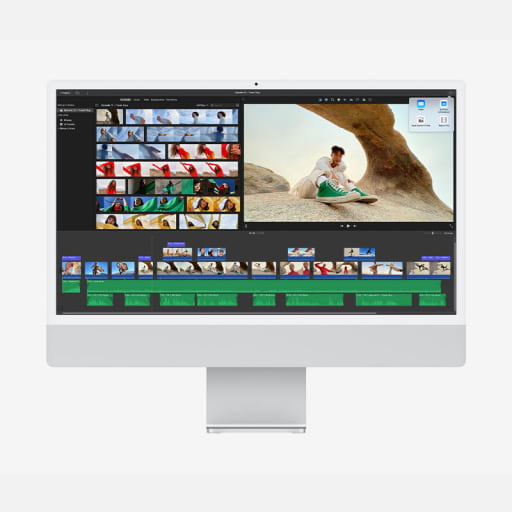 Apple iMac 24 Zoll Silber günstig mieten statt kaufen