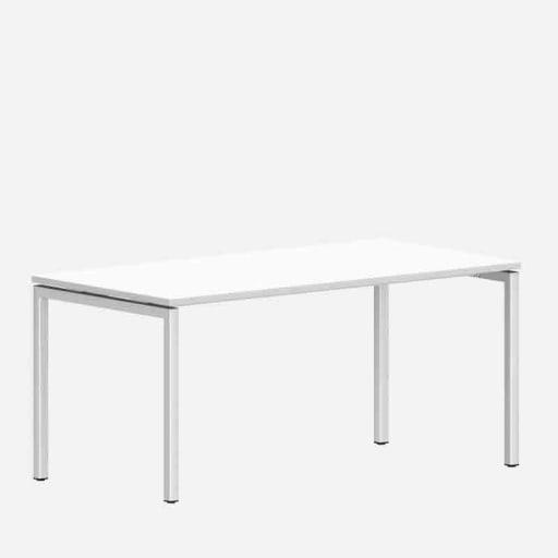 Schreibtisch Ron Weiß clever mieten statt kaufen