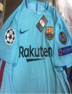 f65f6a931d1 Jual Jersey Barcelona Away FULL Patch UCL 2017 2018