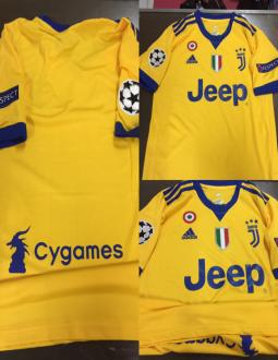 453cd965627 Jual Jersey Juventus Away FULL Patch UCL 2017 2018
