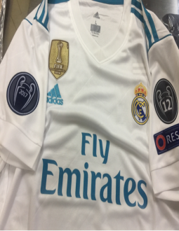 ca67650ea Jual Jersey Real Madrid Home FULL Patch UCL 2017 2018