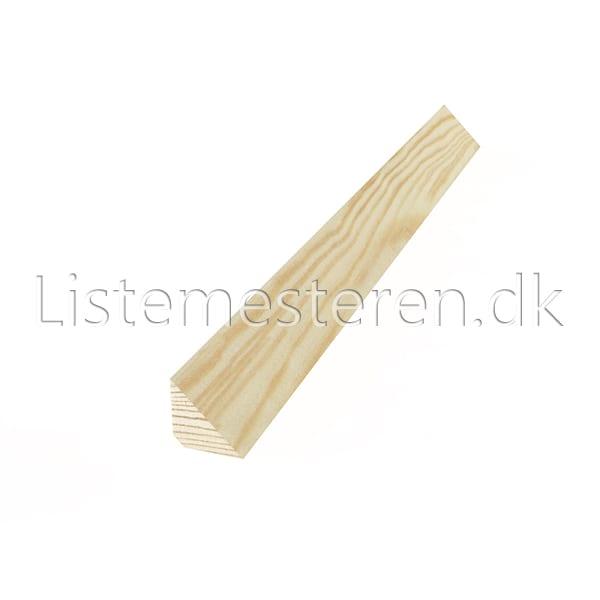 Støbelister fyr 15 x 15 mm