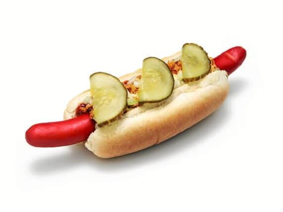 Hotdog m/svøb