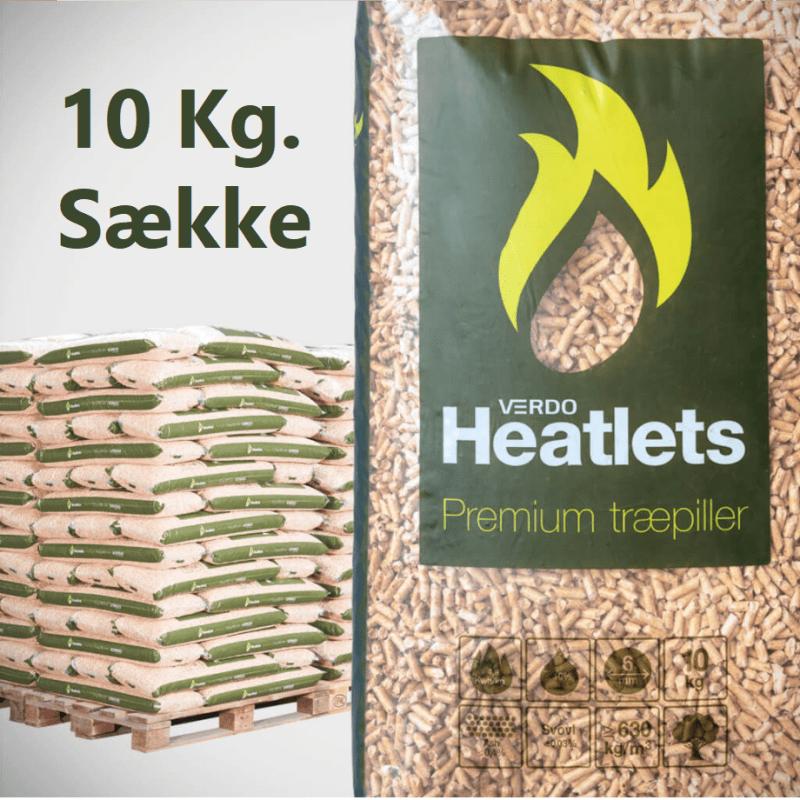 Heatlets Premium 6 mm, 1 palle  (leveret midt Vestjylland)
