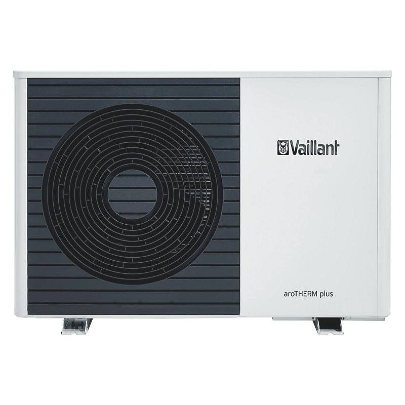 Vaillant aroTHERM plus VWL 55/6 A 230V S2. Luft/vand monoblock varmepumpe 5 kW