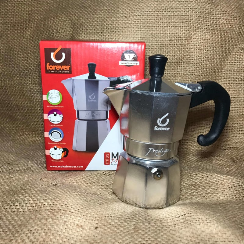 Espressokande Prestige 1 kop fra Moka Forever