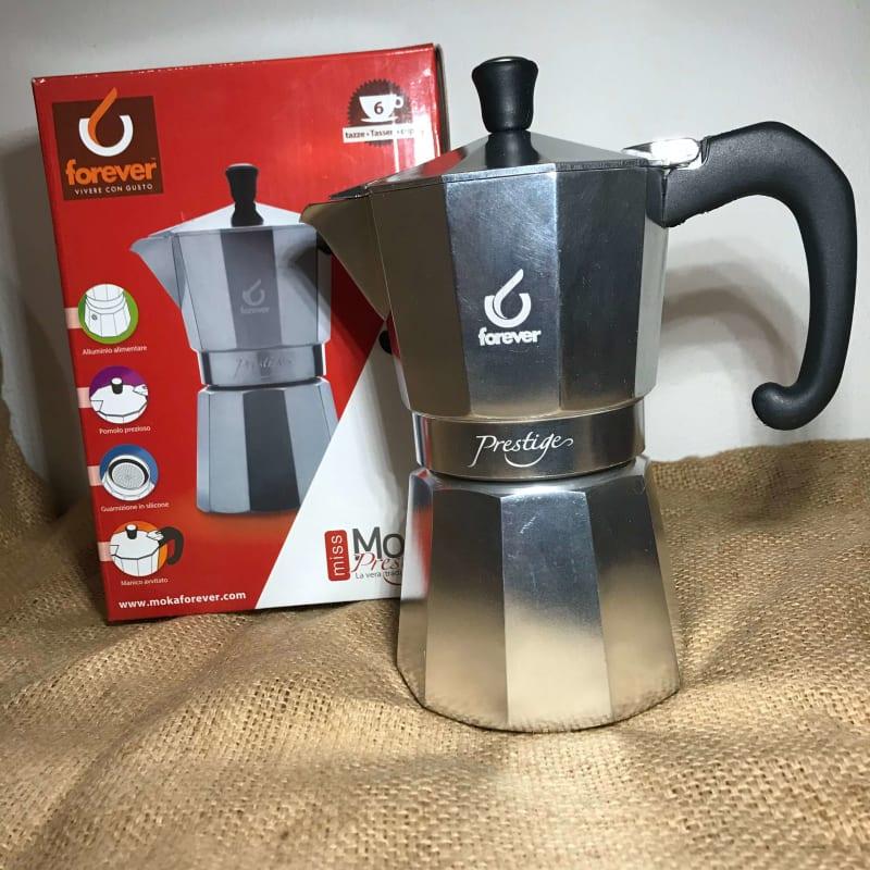 Espressokande Prestige 6 kopper fra Moka Forever