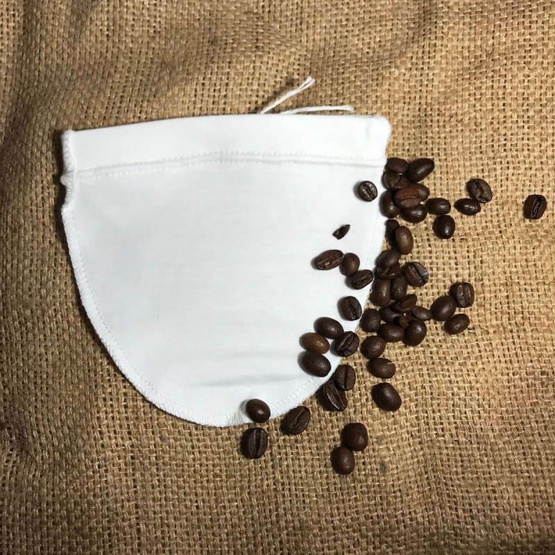 Stofkaffepose nr. 6 (mellem)