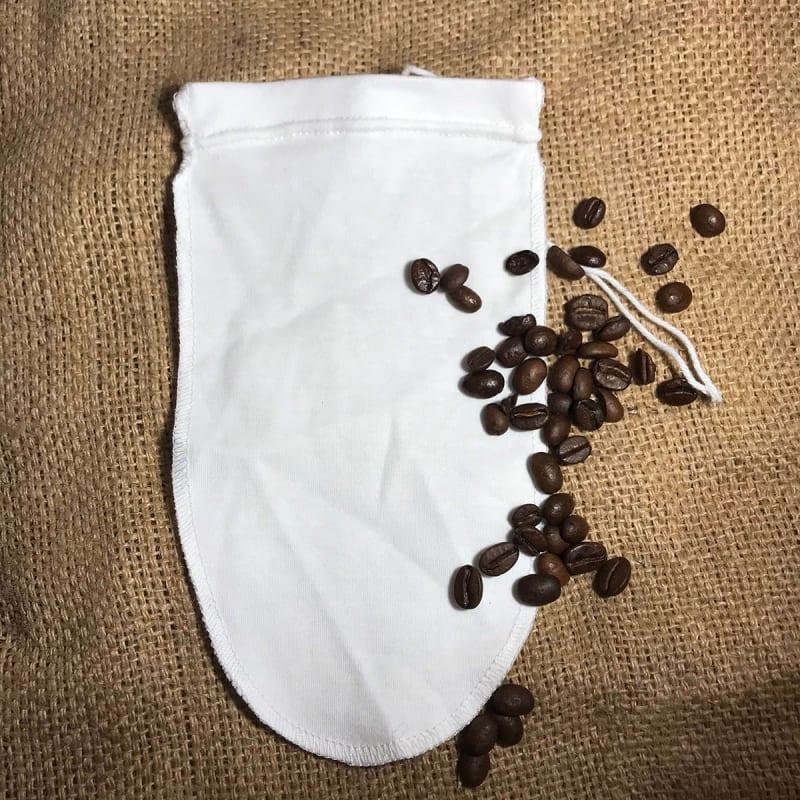 Stofkaffepose ekstra lang