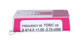 Frequency 55 Toric XR Rx