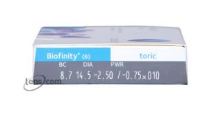 Biofinity Toric Rx