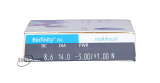 Biofinity Multifocal Rx