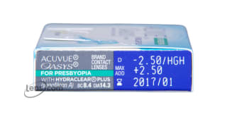 Acuvue Oasys for Presbyopia Rx
