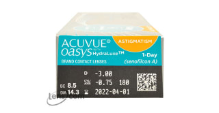 Acuvue Oasys 1-Day for Astigmatism 30PK Rx