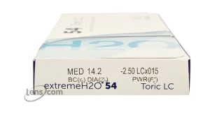 Extreme H2O 54% Toric Rx