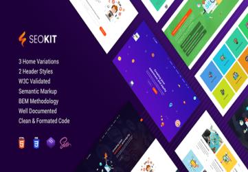 SEOKit - SEO and Digital Marketing Agency HTML5 Template