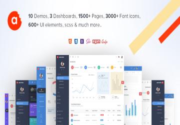 AdminBite Powerful Bootstrap 4 Dashborad Template