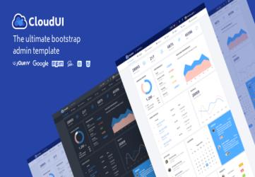 CloudUI Bootstrap 4 Admin Template