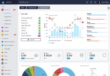 Assist - Angular 8/9+ Bootstrap 4 Theme