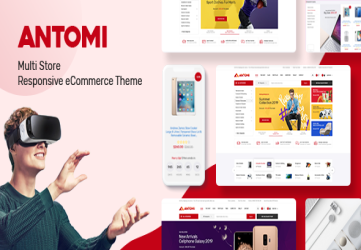 Antomi - Multipurpose OpenCart Theme  (Included Color Swatches)