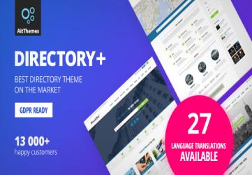 Directory+ - WordPress Directory Theme