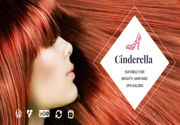 Cinderella - Beauty and SPA Theme