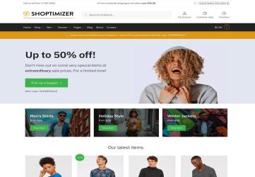 Shoptimizer - The Fastest WooCommerce Theme