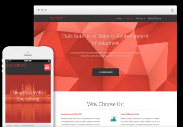 Squared - Wordpress Theme