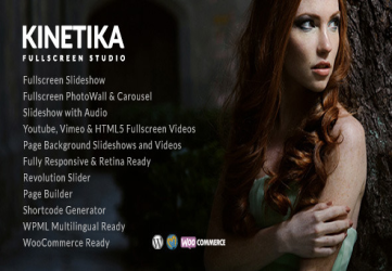 Kinetika | Photography Theme for WordPress