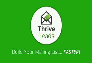 Thrive Leads - WordPress Email Collection Plugin