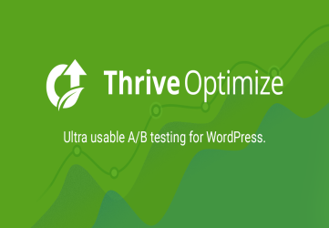 Thrive Optimize - Best A / V Test Plugin for WordPress