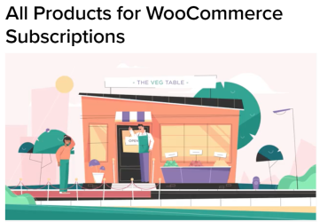 WooCommerce All Products For Subscriptions Plugin