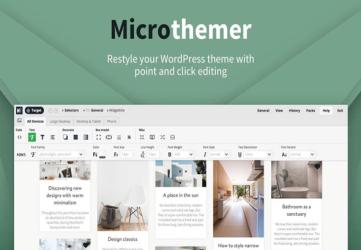 Microthemer - Visual CSS WordPress Editor