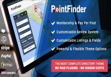PointFinder | Directory & Listing WordPress Theme
