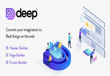 Deep - Premium Template for WordPress