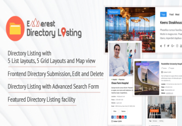 Everest Business Directory - A Complete Business Directory WordPress Plugin