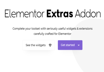 Elementor Extras - widgets and extensions for Elementor