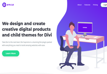 Divi Supreme Pro - Creative Modules for Divi WordPress