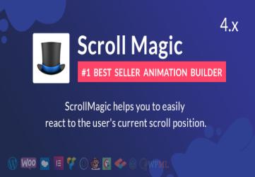 Scroll Magic WordPress – Scrolling Animation Builder Plugin