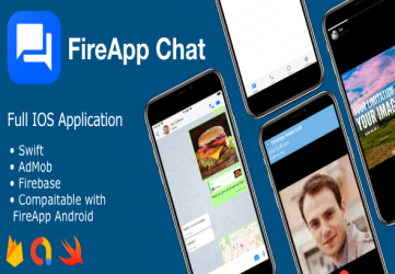 FireApp Chat IOS - Chatting App for IOS -  Inspired by WhatsApp