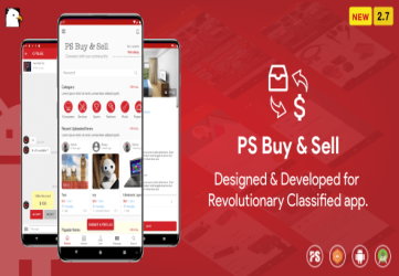PS BuySell ( Olx, Mercari, Offerup, Carousell, Buy Sell ) Clone  Classified App ( 2.7 )