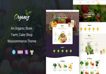 Organiz - An Organic Store WooCommerce Theme