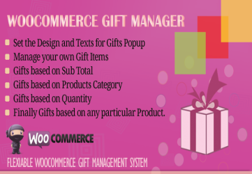 WooCommerce Gift Manager