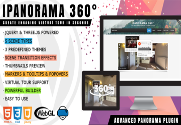 iPanorama 360 - Virtual Tour Builder for WordPress