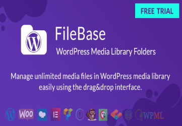 WordPress Media Library Folders - FileBase