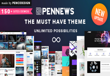 PenNews - Multi-Purpose AMP WordPress Theme