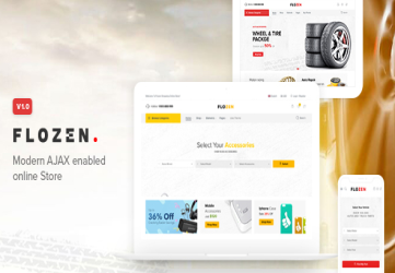 Flozen - WooCommerce AJAX WordPress Theme