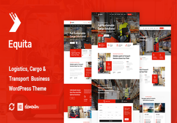 Equita - Logistics Cargo WordPress Theme