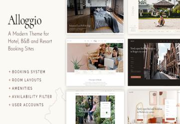 Alloggio - Hotel Booking Theme